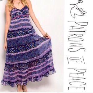 Patrons of Peace Maxi Dress